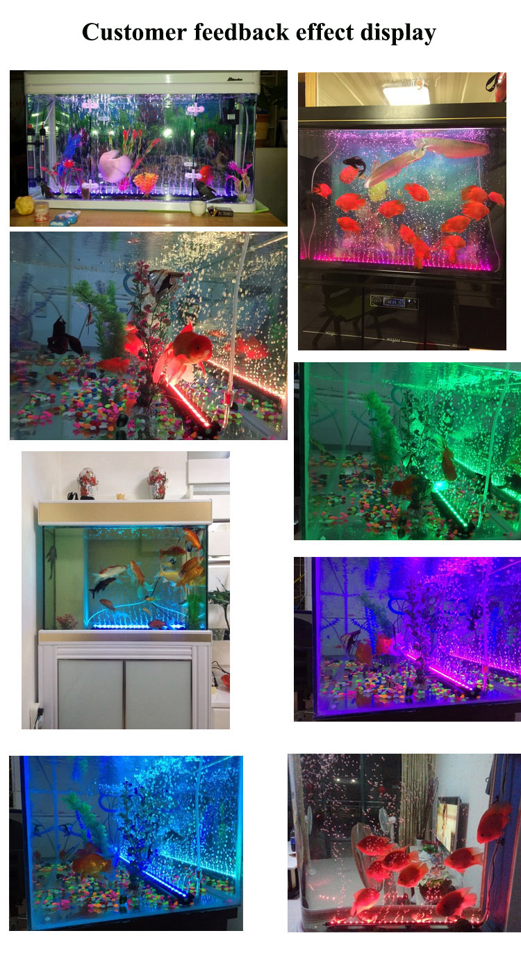 factory price rohs proved led aquarium light led air bubble light ornaments