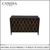 Hand-Made chinese freshwater shell inlaid black walnut wood Storage Cabinet living room furniture