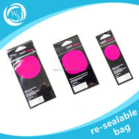 bag with resalable zipper