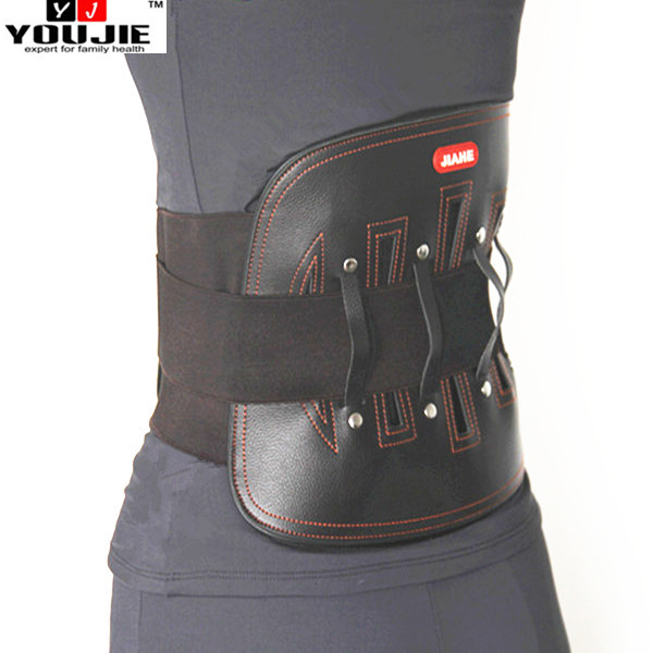 China Factory Direct Leather Back Straightening Support Lumbar Support Girdle
