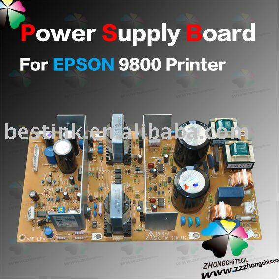 Power Supply Board for EPSON 9800 Printer/ For Epson Printer Power Supply Board