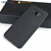 Anti shock carbon fiber pattern plastic cell phone cover case for samsung galaxy note 8, shockproof case for note 8