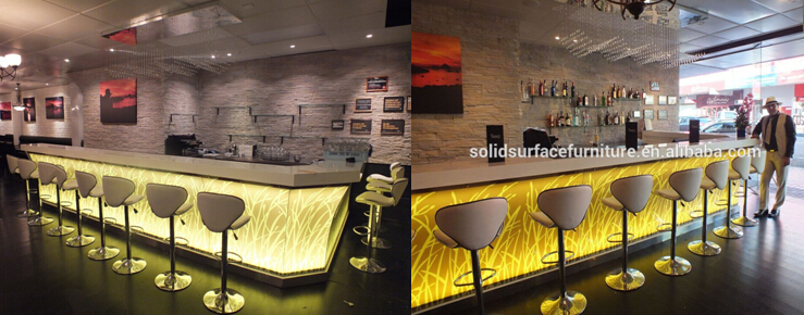 Contemporary Design Coffee Shop Counters Cafe Bar Wine Bar