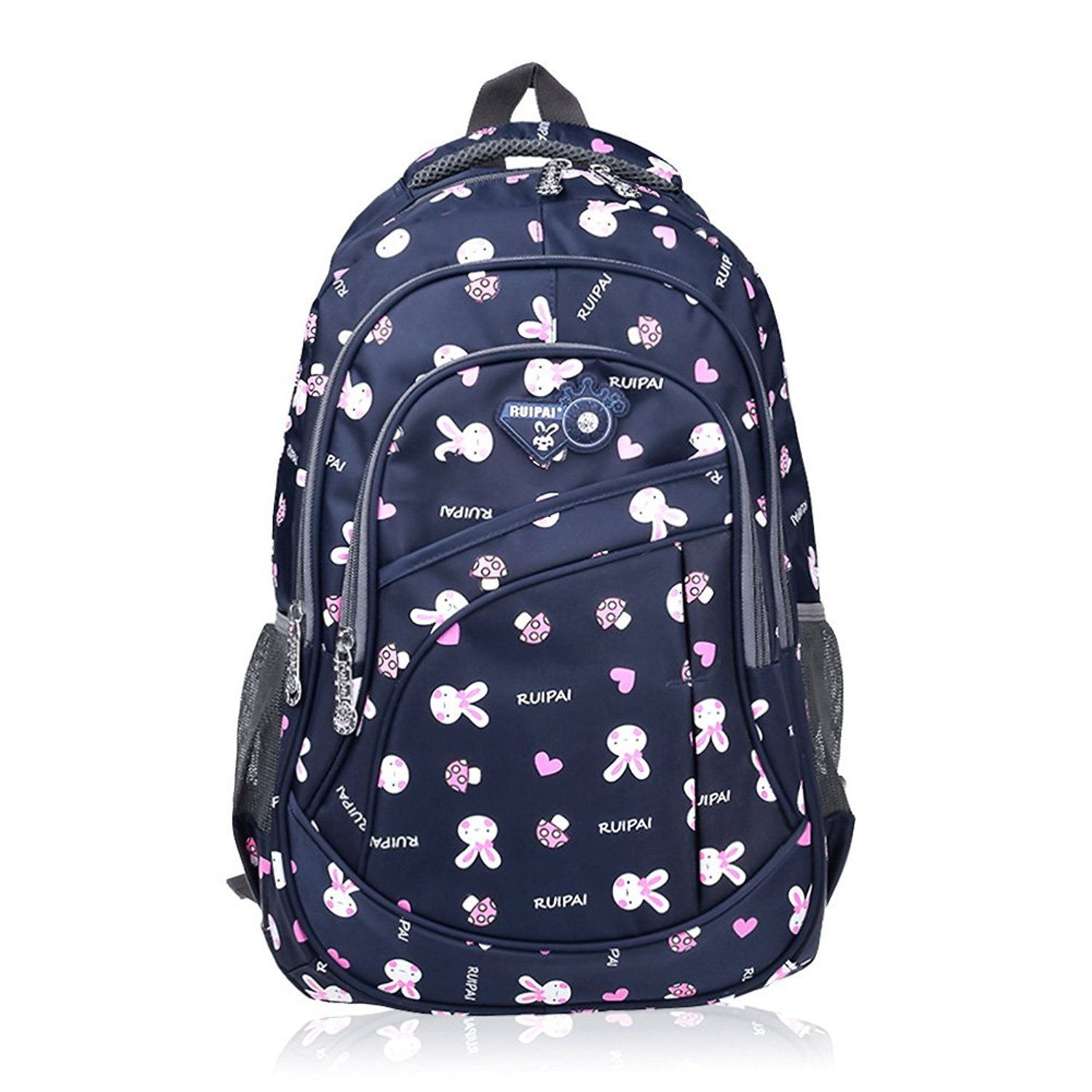 b44c0926c03c Get Quotations · Vbiger School Backpack for Girls Boys for Middle School  Cute Bookbag Outdoor Daypack
