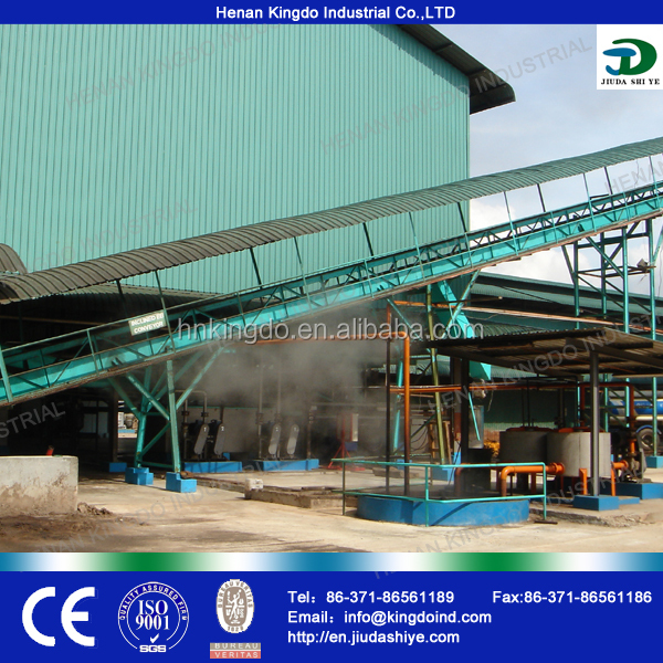 RBD crude palm oil refining and palm oil fractionation plant turnkey project