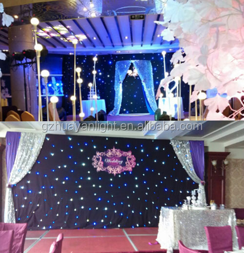 Stage Background Decoration Led Curtain Dmx Control Soft Led ...