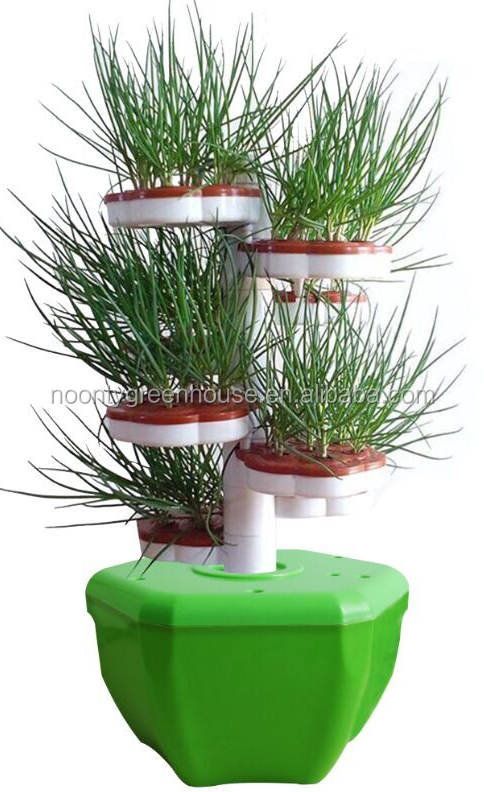 Auto Hydroponics Growing Tower-spiral Type - Buy Auto Hydroponics Growing  Tower-spiral Type Product on Alibaba com