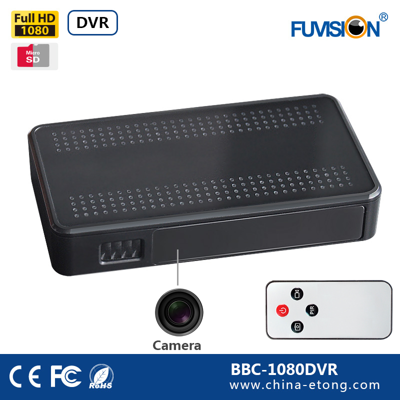 Nova 1080 p HD full hd car black box dvr câmera escondida do espião com a gravação de longo tempo