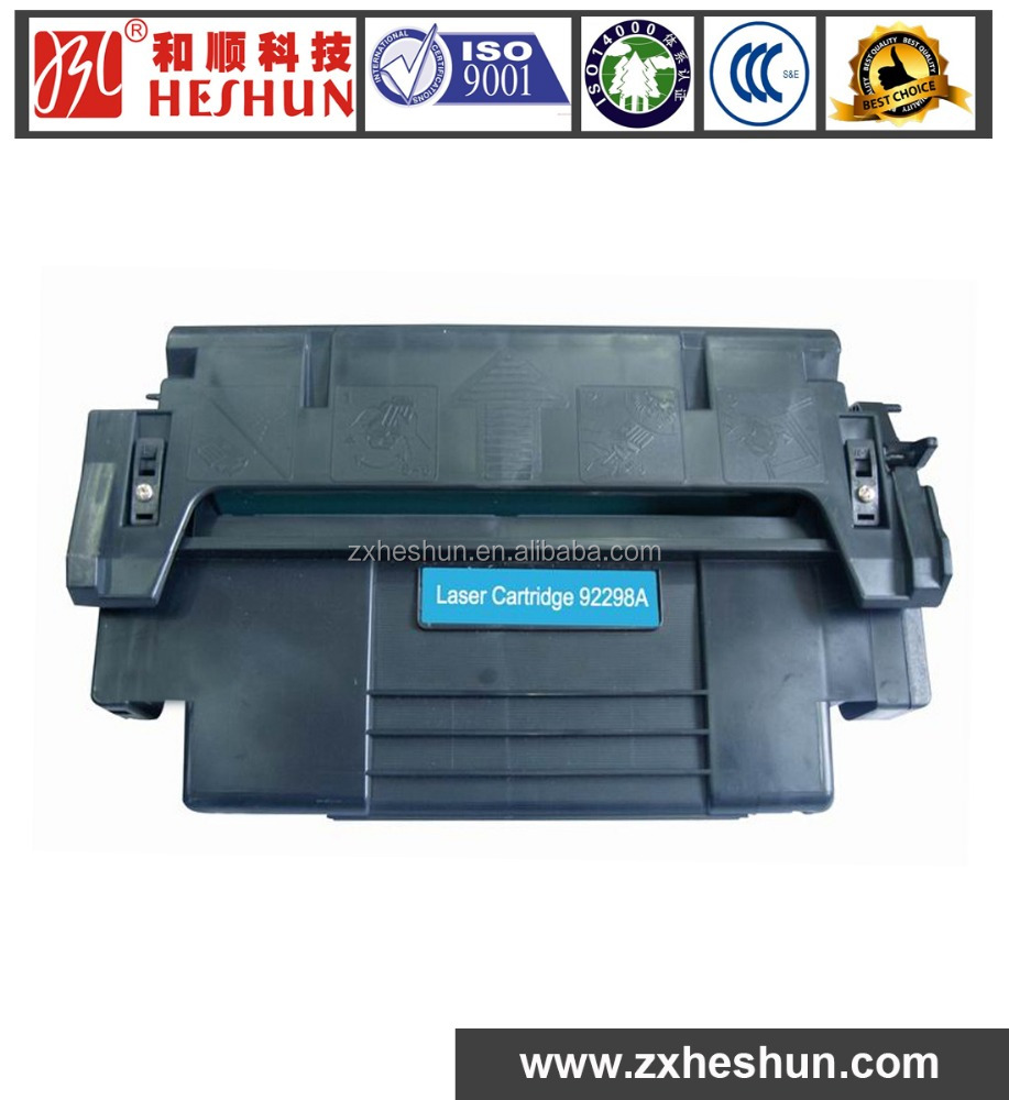 factory directly sale premium cartridge 92298A for HP LaserJet 4/4m/4 plus/4m plus/5/5m/5n