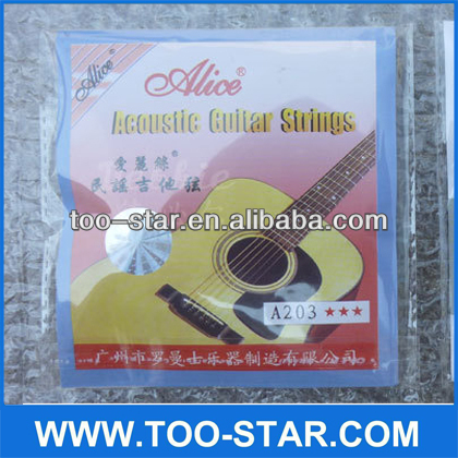 Scatter single Alice acoustic guitar strings