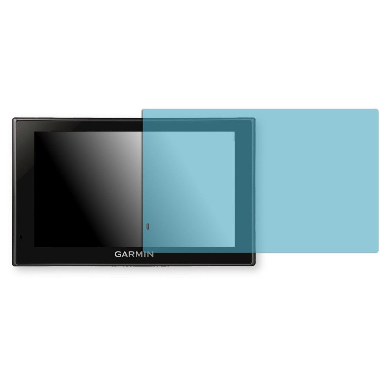 Golebo Screen Film for Privacy protection blue for Garmin Camper 660 LMT - PREMIUM QUALITY