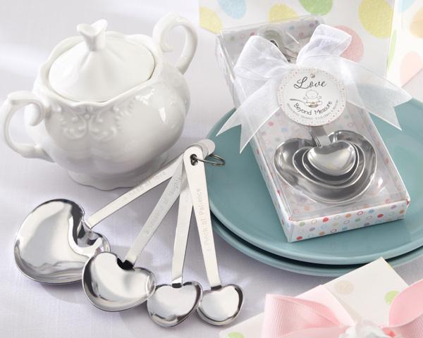 Love Beyond Measure Heart Measuring Spoon Nice Door Gift For