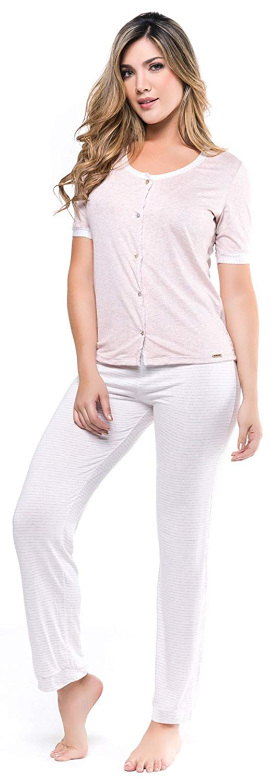 b6953b84a Buy Adriana Arango 2 Piece Womens White Sexy Pajama See Through ...