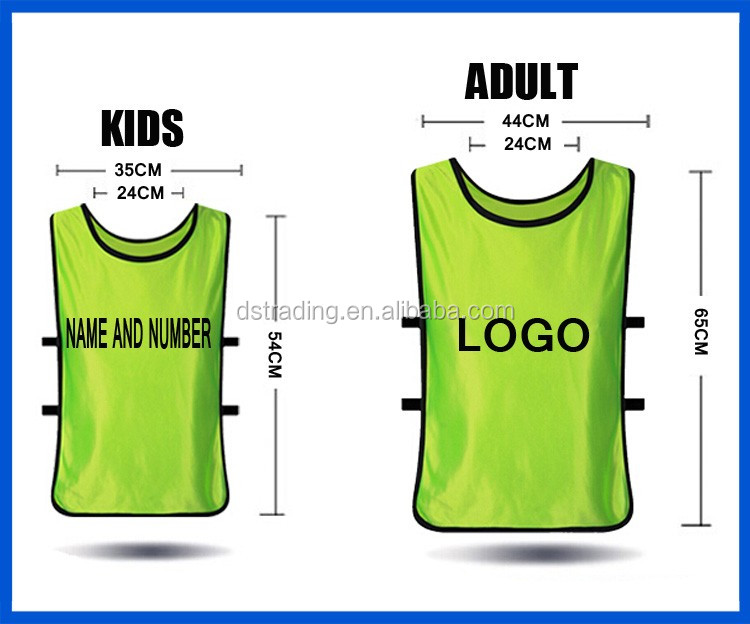 Wholesale Soccer Sports Training Vest ,Football Vest Bibs