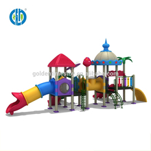 High performance children kids climbing big slide tunnel for sale