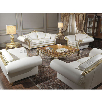 Leather Sofa Set Living Room Furniture