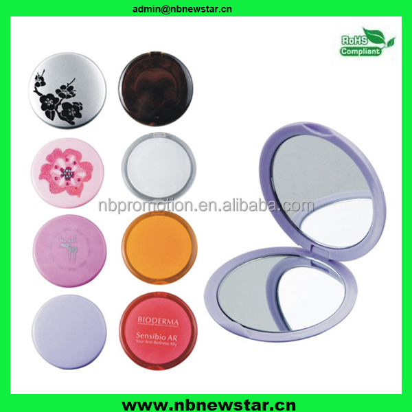 NMR007 Hot Sales For Promotion Customized Logo round comestic mirror