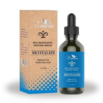Peptide Serum Best Anti Aging Face Serum Reduces Wrinkles And Boosts Collagen Heals And