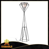 artistic metal floor lamp