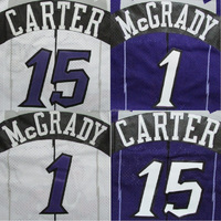 Sublimated Purple / White Tracy McGrady / Vince Carter Basketball Jersey