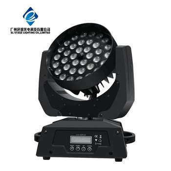 36x10 led moving head wash zoom stage light