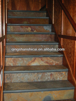 Charming China Autumn Slate Stair Treads And Risers