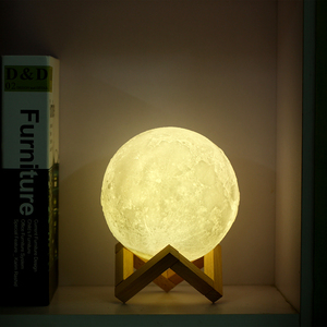 Decoration Lamp Creative 3d Led Printing Touch Colors Light Night 3 Moon Eb9Y2IWDHe