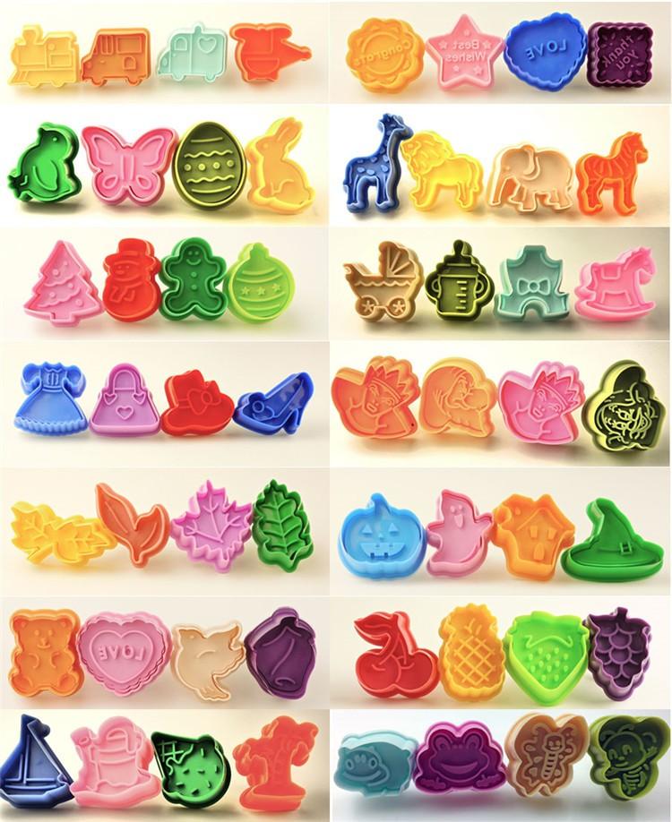 Multifarious Plastic Cookie Cutters