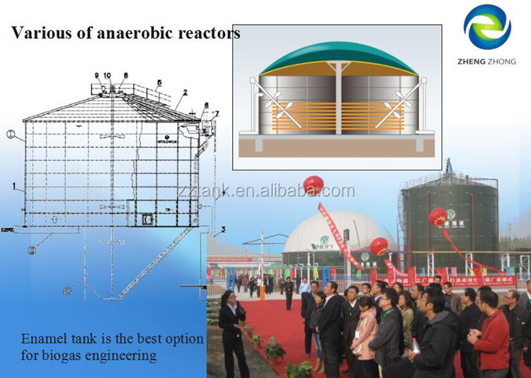 High Quality Wastewater Digestion Tank For Industrial Effluent ...