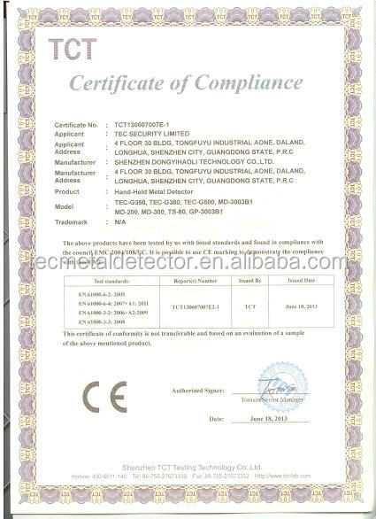 Best Choice Quality Warranty cheap hand held metal detector, super scanner metal detector CT-900