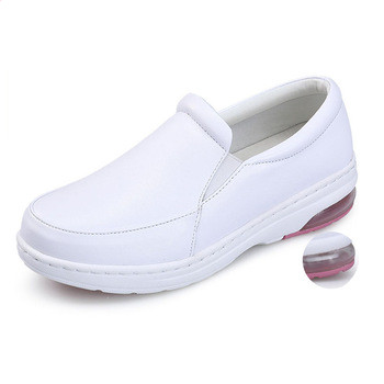 Breathable Leather Flat Anti-static