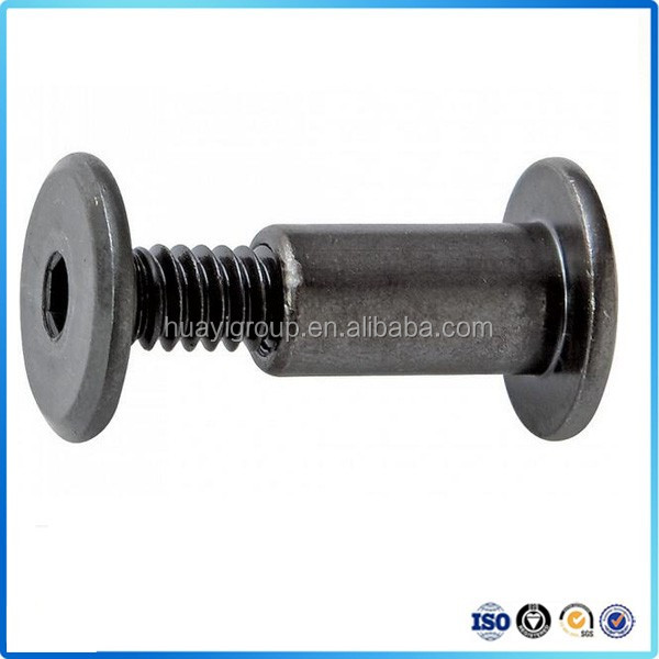 OEM custom high precision round head stainless steel guardrail bolt manufacturer