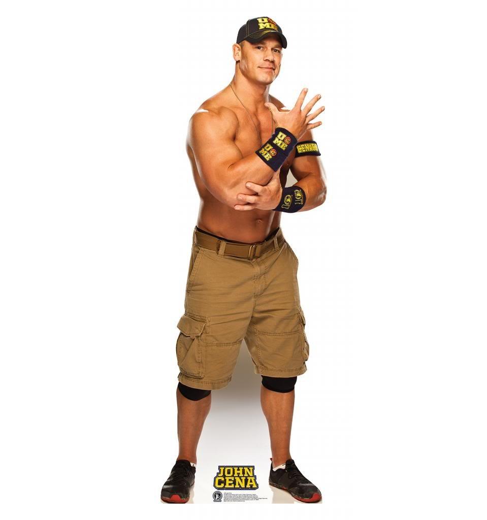 John Cena - WWE - Advanced Graphics Life Size Cardboard Standup
