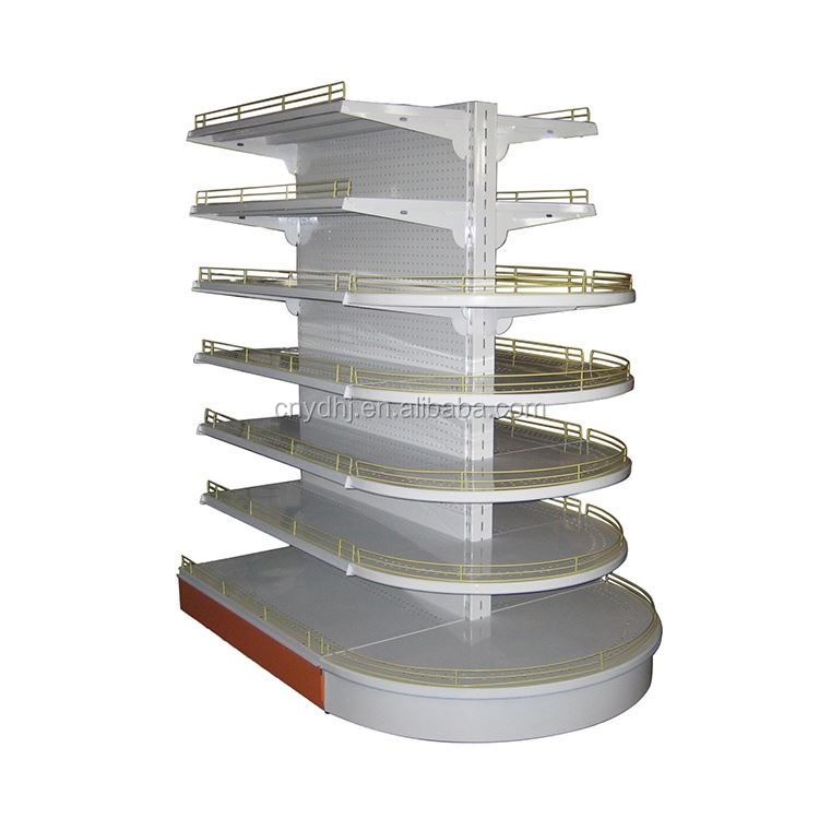 Modern design series used metal durable hand reasonable price convenience store shelf