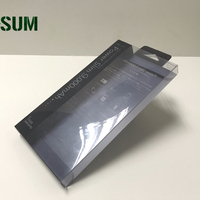 Small Clear Plastic Packaging Box For Cell Phone Case