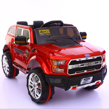 Ride on with suspension Ford car for children with remote control