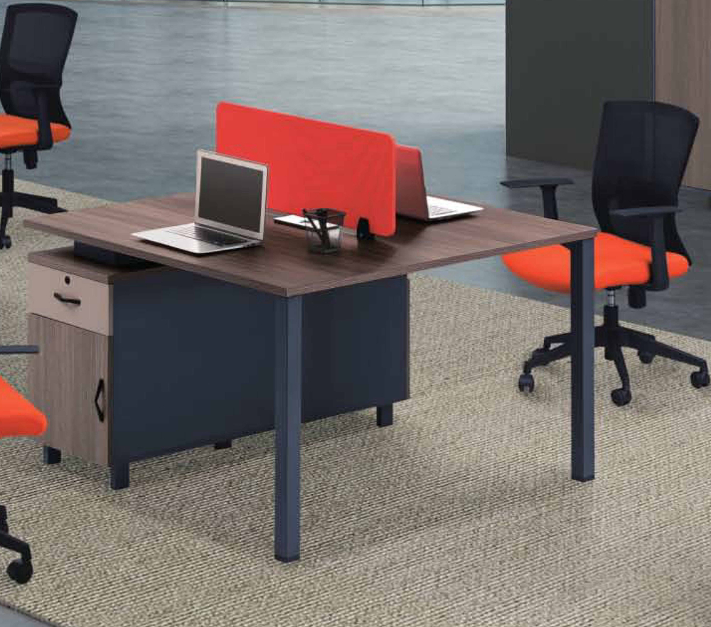 Modern Nice Office Wood Grain Partner