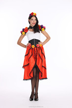 Dream party woman beauty halloween costume Death skirt