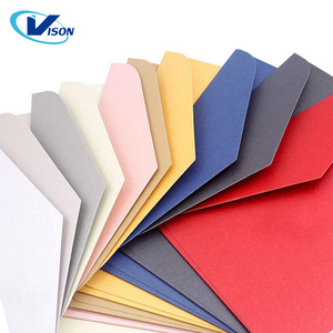 Vintage Retro Colored Blank Paper Envelopes Wedding Party Invitation Greeting Cards Gift Wedding Paper envelope