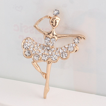 New fashion charming rhinestone brooch for wedding party