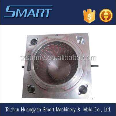 Guaranteed customer design OEM ODM plastic garbage can mould for <strong>injection</strong> low price