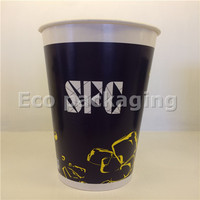 16oz espresso paper cups disposable coffee cup with handle