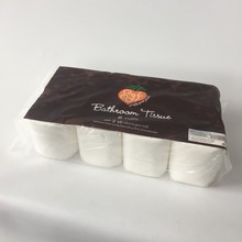 Good quality eco- friendly toilet tissue in paper wrap