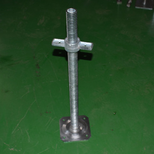 jack stand scaffolding Adjustable base stand simple structure parts of screw jack price