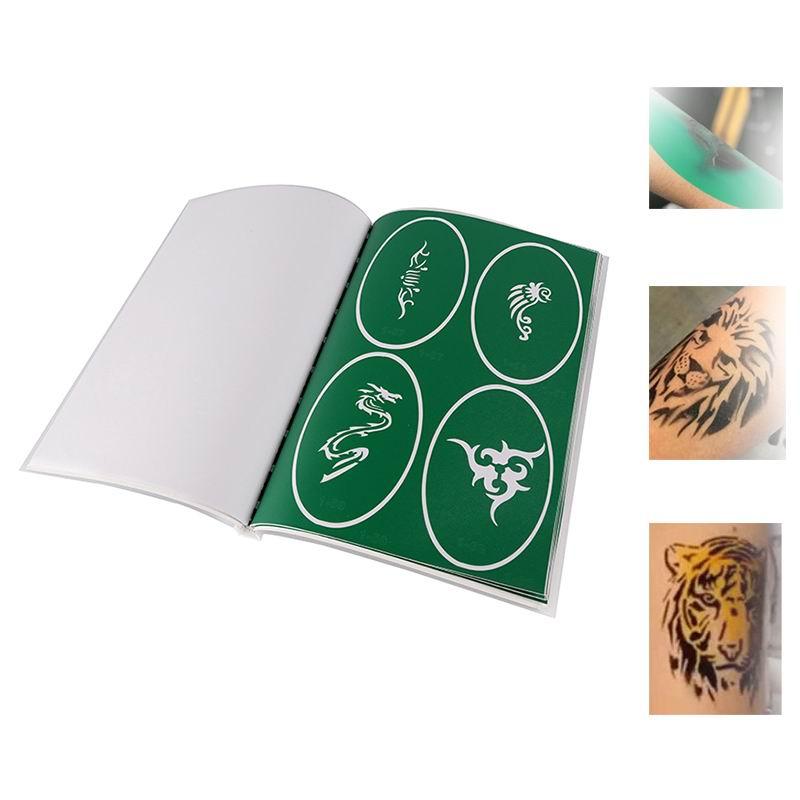 Environment friendly custom glitter tattoo stencil paper
