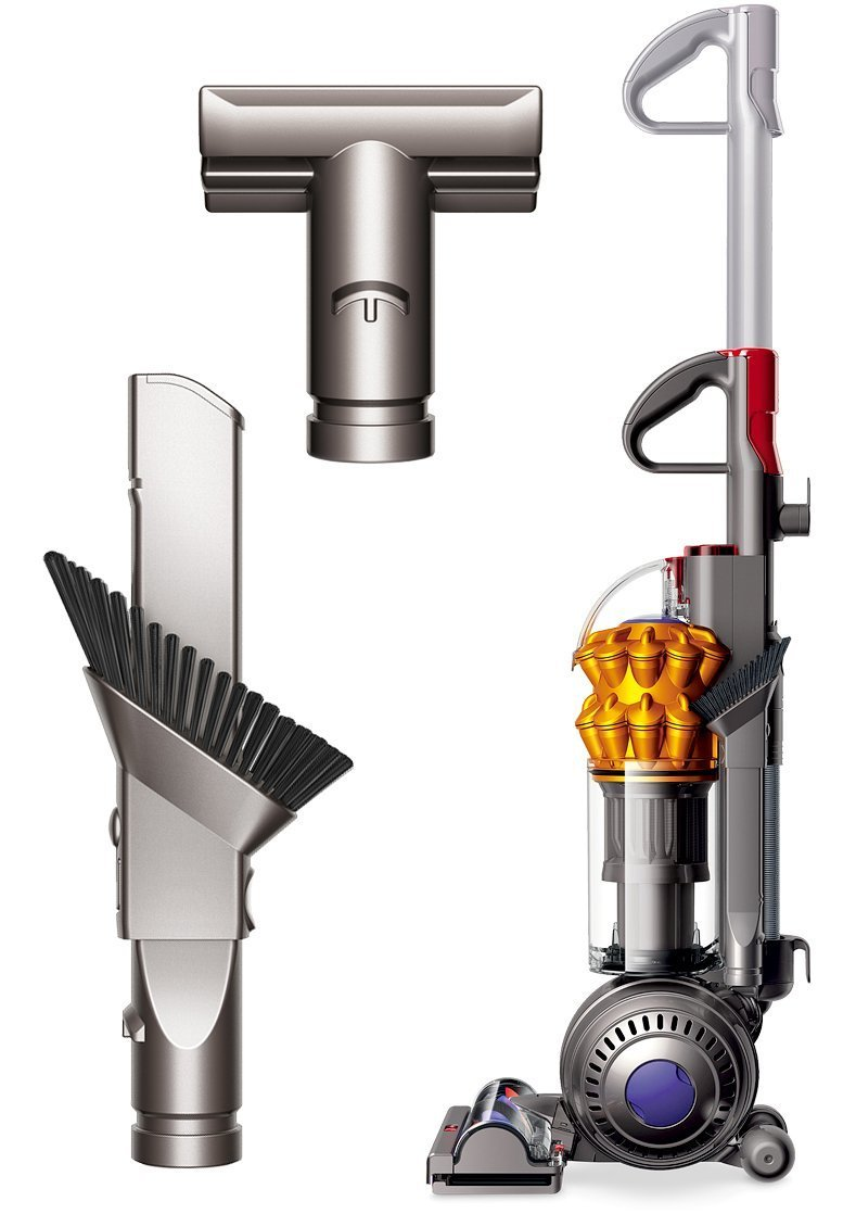 Dyson Small Ball Multi Floor Compact Bagless Upright Vacuum Cleaner + Stair Tool + Combination Tool