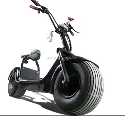 OEM ML-SC01 1500w 60V-12AH Lithium battery CITYCOCO electric scooter with APP/ALARM/turn light in Holland