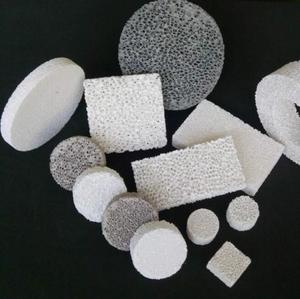 Alumina,Silicon Carbide,Zirconia Porous Ceramic Foam Filter