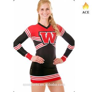b1605d33f13 Long Sleeve Cheerleading Uniforms