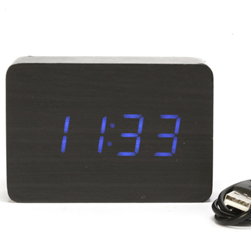 small digital desk clock promotion shop for promotional small digital desk clock on. Black Bedroom Furniture Sets. Home Design Ideas